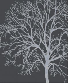 Silver Birch  a Counted Cross Stitch Pattern by WooHooCrossStitch, $9.00