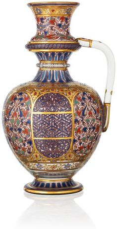 'Orientalist Glass Art' exhibition of pieces from the Lobmeyr Family Museum, Vienna in Sharjah, UAE