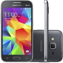 "Smartphone Samsung Galaxy Win 2 Duos Dual Chip 4G - Android 4.4 Câm. 5MP Tela 4,5"" Proc. Quad Core"