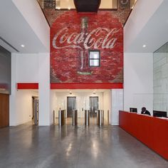 Interiors on Architonic: Coca Cola by Acrylicize http://buff.ly/ZFnb6i