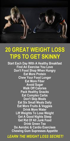 20 Great Weight Loss Tips To Get Skinny. Learn about Zija's Moringa based product line and get our FREE weight loss eBook with suggested fitness plan, food diary, and exercise tracker. Increase energy, boost stamina, improve recovery time, burn fat, and l