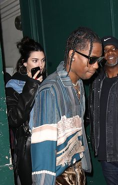 3/3/17: Kendall and Travis Scott leaving a studio in Paris. http://kendallkeek.com