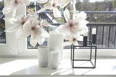 Lyngby vaser kubus by lassen magnolia