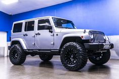 "2013 Jeep Wrangler Unlimited Sahara 4x4 Jeep For Sale with Brand New 4"" Fabtech Performance Lift with 18"" XD Strike Wheels on 35"" x 12.50 R18 Nitto Trail Grappler Tires! 
