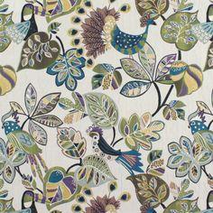 Swavelle / Mill Creek Chirpy Grape Fabric