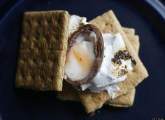 Cadbury Creme Egg Recipe Creations: Chocolate Egg S'mores