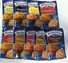 9  Pack of Martha White Muffin Mix -- You can get more details by clicking on the image.(This is an Amazon affiliate link and I receive a commission for the sales)