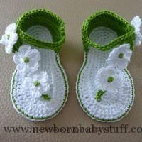 Crochet Baby Booties Crafts, the web of things done by hand