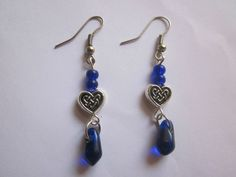 Fashion Women Girls drop Dangle hook antique silver Earrings #Handmade #DropDangle