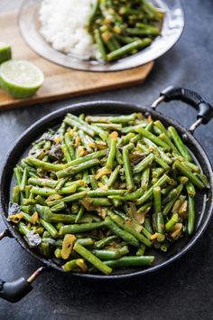 Sri Lankan Green Bean Curry - Recipe and Food Photography by Shika Finnemore, The Bellephant