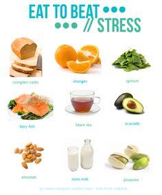 Alimentos que ayudan a combatir el estrés - una alimentación sana te ayuda a controlar mejor las situaciones