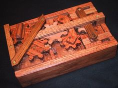 Wooden Boxes With Lock Puzzle Lock . Wooden Puzzle Box, Wooden Puzzles, Wooden Boxes, Chinese Puzzle Box, Japanese Puzzle Box, Woodworking Box, Woodworking Projects, Diy Wood Projects, Wood Crafts