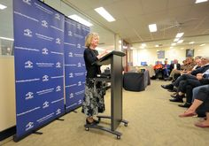 Author Janette Turner Hospital at Hornsby Library as part of Sydney Writers' Festival.