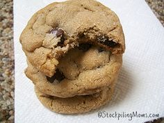 BEST Brown Sugar Peanut Butter Cookies EVER! #peanutbutter #cookies