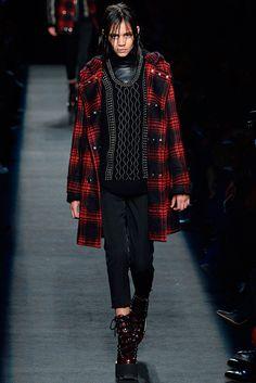 Alexander Wang Fall/Winter 2015-16 #fashion #model #girl #valeriajmarchetti