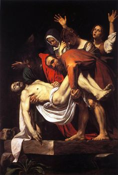 Michelangelo Merisi, detto il Caravaggio • Deposizione dalla croce, 1600-04 ca.