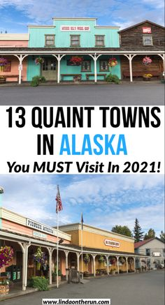 Planning your trip to Alaska? Here are 13 quaint towns in Alaska you must visit in 2021| Alaska towns| Where to stay in Alaska #alaska #towns #usa #cruise
