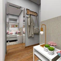 Detalhes que amamos: espelho, cabeceira estofada e luminária gold 💕 #micheleravadeli #interiordesign #design #designdeinteriores #designerdeinteriores #interiores #decoracao #decoração #decoration #bedroom #bedroomdecor #details