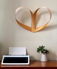 diy wood hearts
