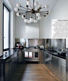 #Kitchen #Hi-tech and #vintage #design