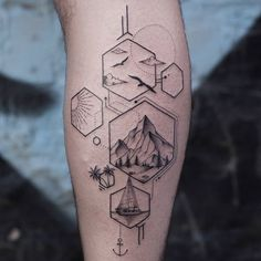 53 Ultimate Amazing Mountain Tattoo Design Ideas for 2019 - Page 52 of 53 - # C. - 53 Ultimate Amazing Mountain Tattoo Design Ideas for 2019 – Page 52 of 53 – # Check more at 13 - Geometric Mountain Tattoo, Geometric Shape Tattoo, Mountain Tattoo Design, Simple Mountain Tattoo, Geometric Tattoos Men, Geometric Shapes, Small Tattoos Men, Cool Tattoos, Tatouage Tolkien