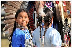 Native American Children, via Flickr.