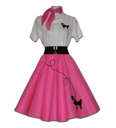 Adult 50's POODLE SKIRT Outfit