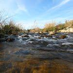 El río Gorgos atraviesa el término de Alcalalí y constituye el eje vertebrador de los pueblos de la Vall de Pop.
