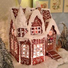 Gingerbread house Pepperkakehus