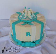 Babyshower cake for boy