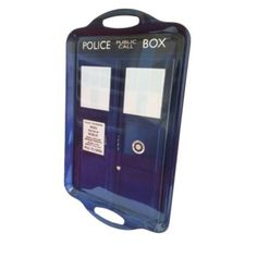 Doctor Who Tardis Serving Tray