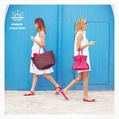 Louis Vuitton - Summer 2013 collection - Monogram with hot pink details