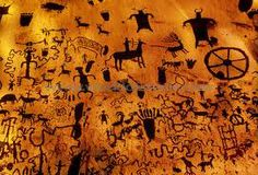 Cave painting,  They had families, why are there no children in the paintings?