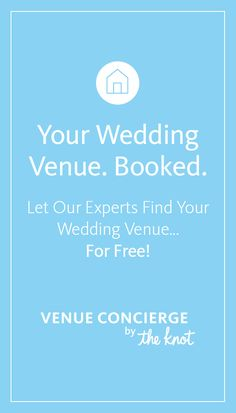 Looking for the perfect wedding venue? We can help you find (and book) it... for free!
