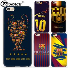 Barcelona 2017 Cover For Iphone 7 Cases 5s Capinhas Hard Transparent PC Phone Cover Case For Iphone 6 5s SE 6plus 6S Plus Fundas