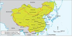 This picture shows how much land the Qing dynasty ruled over. They had more than 10% of the land area on Earth. Asia's longest river, Yangtze flowed across China's most important cities. the Yangtze Valley provided more than one third of China's crops.