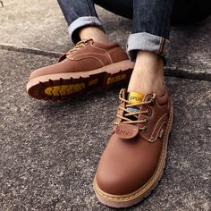 size 40 88386 45166 Luxury Brand Genuine Leather Men Boots Shoes Winter Work   Safety Boots  Fashion Casual Designer Male Shoes Leather Moccasins. Warm Snow Boots, Mens  ...