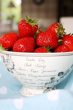 Lovely strawberries