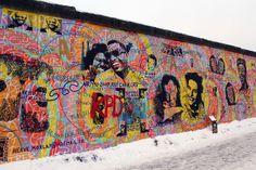 by: Andreas Paulun - Herve Morlay (Berlin) Berlin Photography, Germany Photography, East Germany, Berlin Germany, Berlin Berlin, Murals Street Art, Street Art Graffiti, Berlin Ick Liebe Dir, Berlin Street