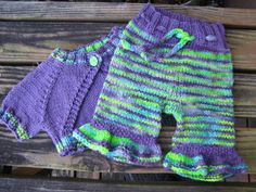 Mom's Iris Bloomers And Shrug wool cloth diaper cover by katidids, $68.00
