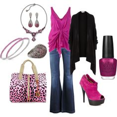 There is nothing like Hot Pink to make a girl feel a little sassy!