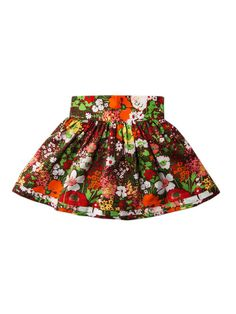 Reversible Dirndl Wrap Skirt by Llum at Gilt