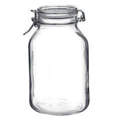 Fido Glass Jar 101.5oz 6pc