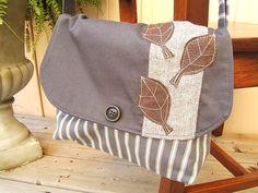 Leather Leaf satchel