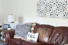 fun & easy DIY wall