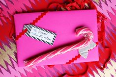 Funky + Bright Gift Wrap Ideas - The Sweetest Occasion | The Sweetest Occasion