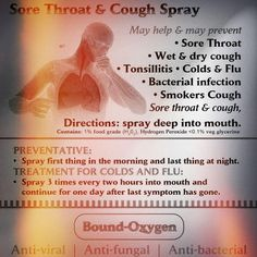 #Throat Spray from Bound-Oxygen for fast relief