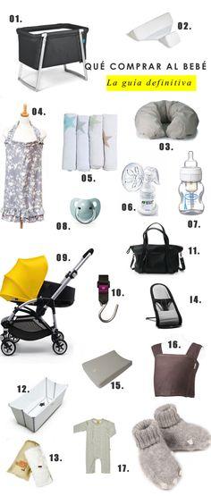La guía definitiva sobre qué comprar al bebé recién nacido