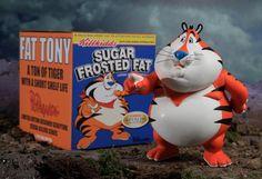 Ron English -- 'Fat Tony' jajajaja