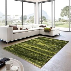 Stunning Compilation of Classic & Modern Design, this Samoa 162 030 Green Abstract Rug is a beautifu Traditional Rugs, Rug Cleaning, Grey Rugs, Modern Rugs, In The Heights, Modern Design, Flooring, Abstract, Classic